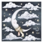 Wandsticker Set - Moon Night Night