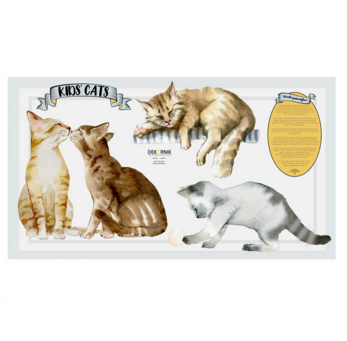 Wandsticker KIDS' CATS