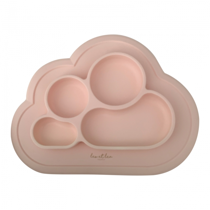 Silikon Baby Teller CLOUD - dusty pink