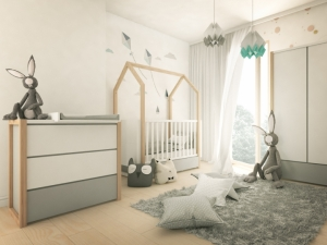 Kinderzimmer Set 3 teilig PINETTE